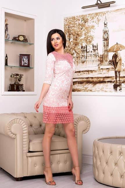 Коктейльное платье 7021e, фото 3