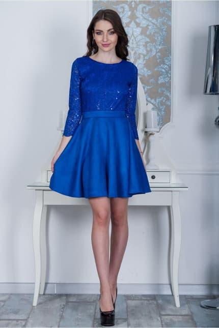 Коктейльное платье 7234e, фото 1