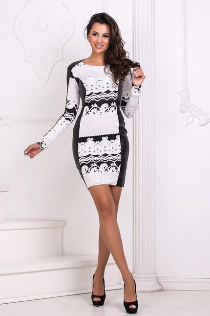 Повседневное платье 4411e, фото 1