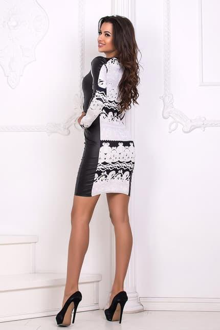 Повседневное платье 4411e, image 3