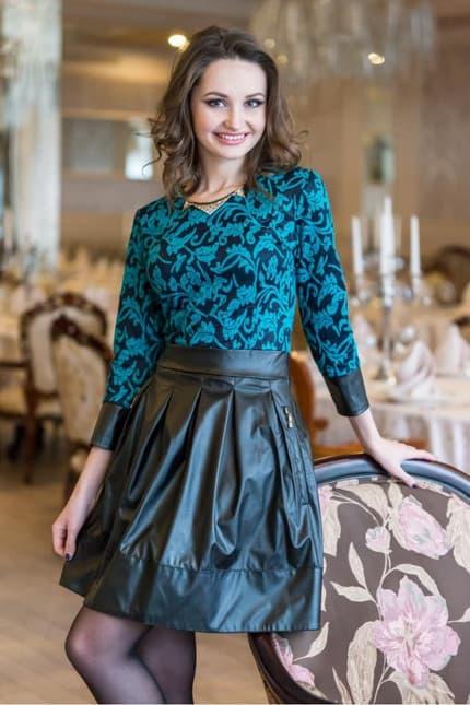 Повседневное платье 4431e, фото 1
