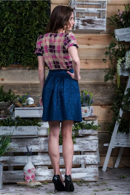 Повседневное платье 5078e, фото 7