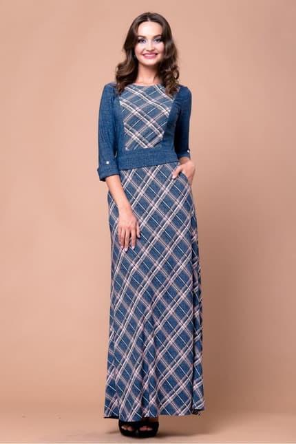 Повседневное платье 5212e, фото 1