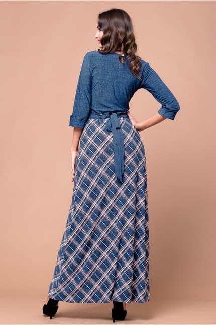 Повседневное платье 5212e, фото 2
