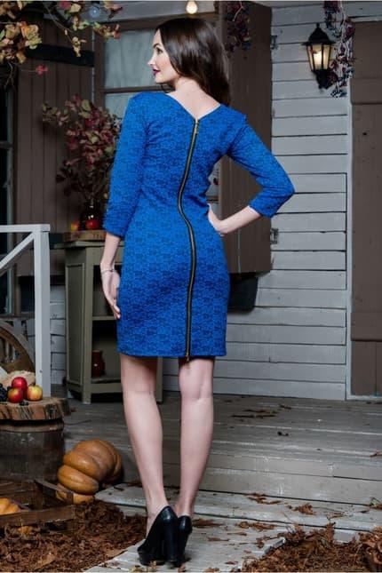 Повседневное платье 5217e, фото 2
