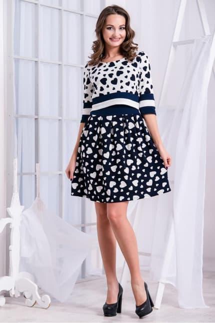 Повседневное платье 5235e, фото 1