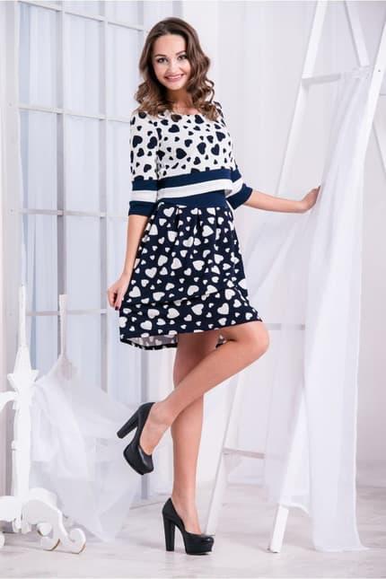 Повседневное платье 5235e, фото 2