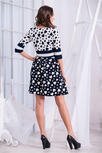 Повседневное платье 5235e, фото 3