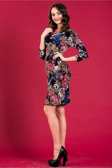 Повседневное платье 5259e, фото 2