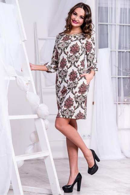 Повседневное платье 5261e, фото 4