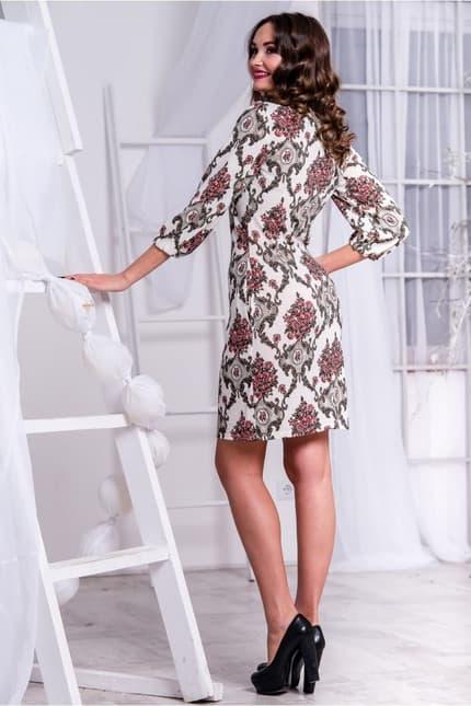 Повседневное платье 5261e, фото 5