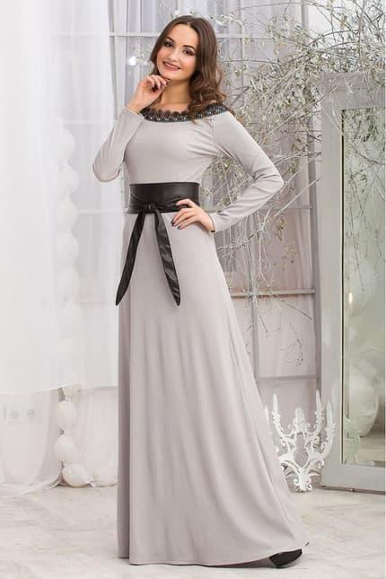 Повседневное платье 5283e, фото 3
