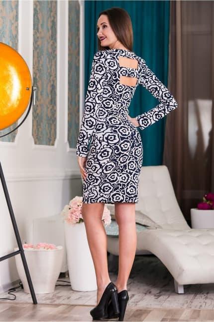 Повседневное платье 5342e, фото 5