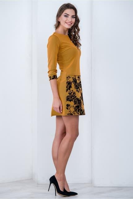 Повседневное платье 6202e, фото 2