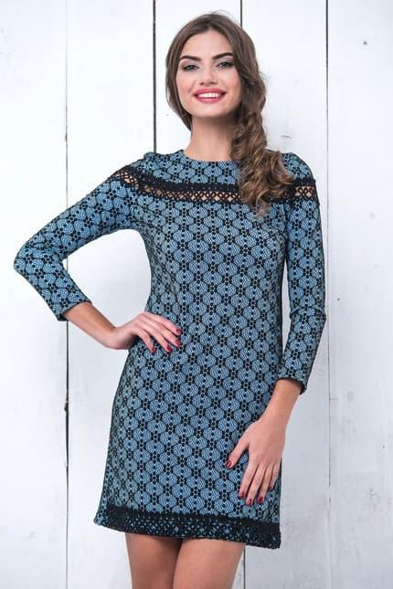 Повседневное платье 6229e, фото 1
