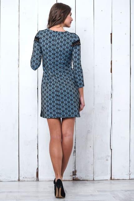 Повседневное платье 6229e, фото 3