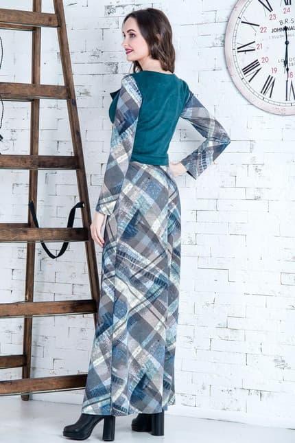 Повседневное платье 6254e, фото 2