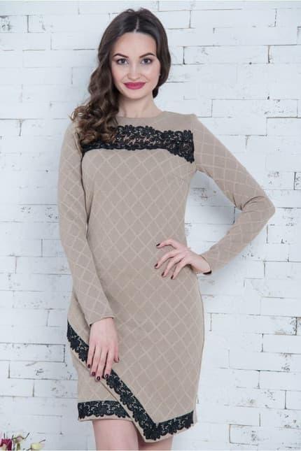 Повседневное платье 6298e, фото 4