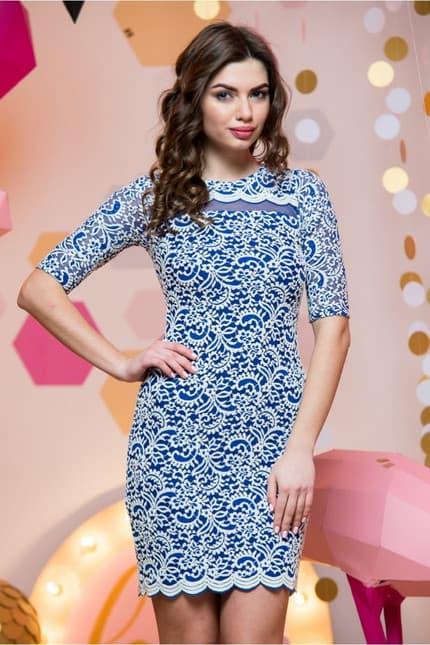 Повседневное платье 7019e, фото 1