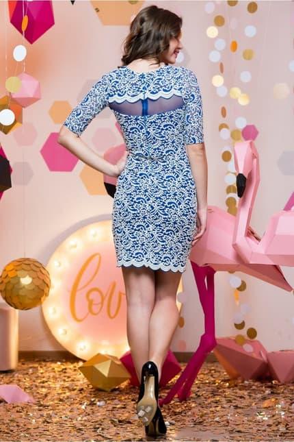 Повседневное платье 7019e, фото 4