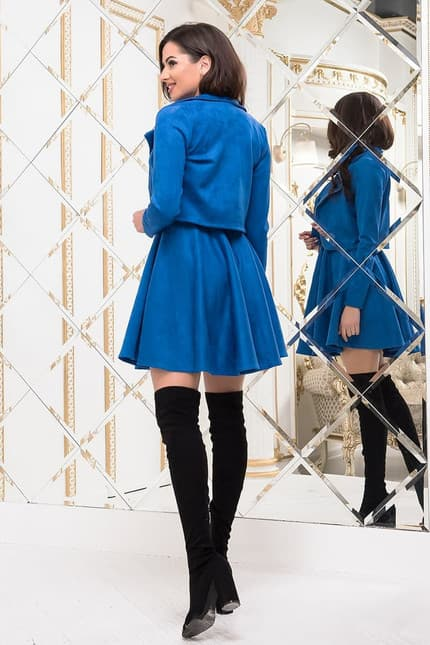 Повседневное платье 7242e, image 3