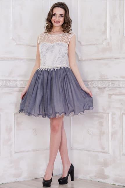 Коктейльное платье 5083e, фото 4