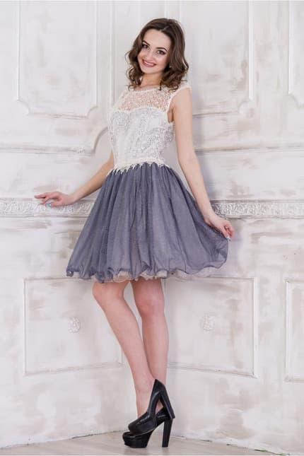 Коктейльное платье 5083e, фото 5