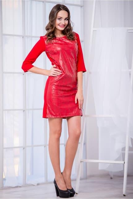 Коктейльное платье 5213e, фото 2