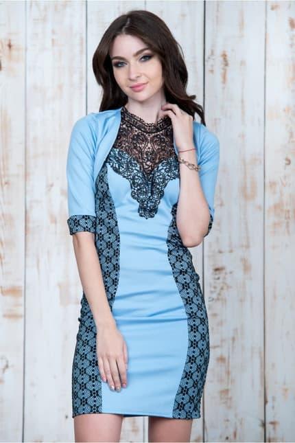 Коктейльное платье 6269e, фото 4