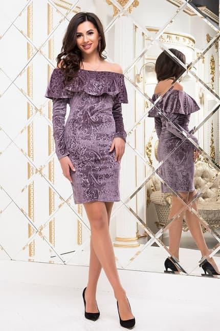 Коктейльное платье 6295e, фото 1