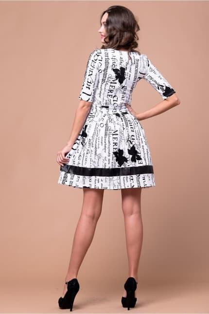 Повседневное платье 5023e, image 3
