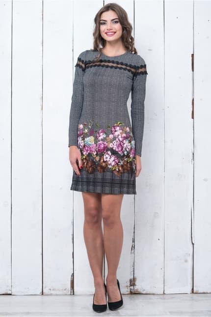 Повседневное платье 5304e, фото 1