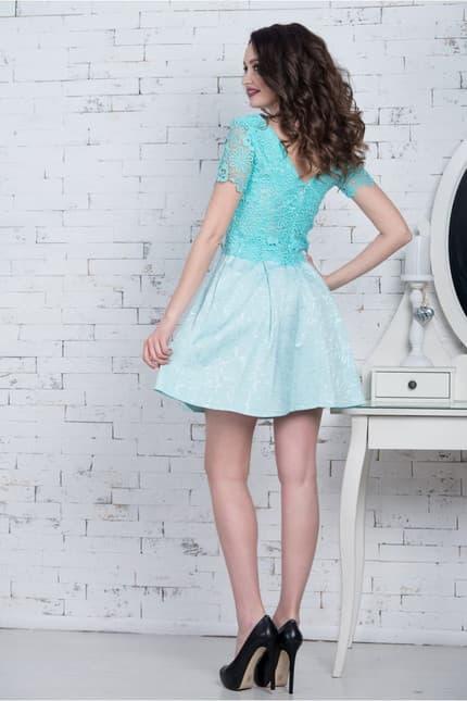 Повседневное платье 7077e, фото 3