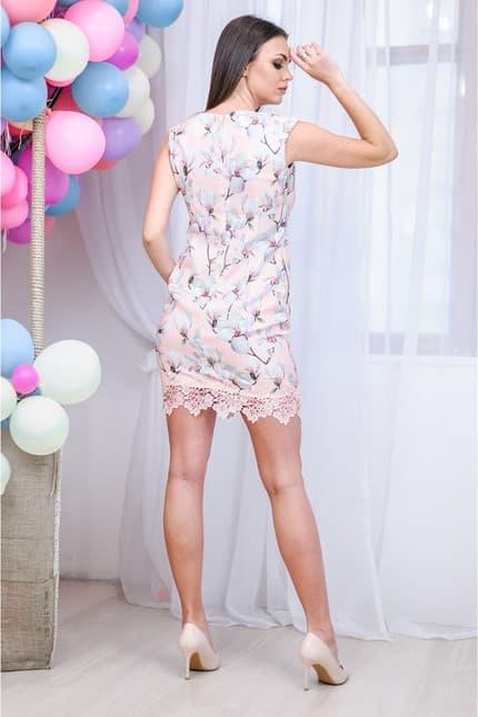Повседневное платье 7133e, фото 4