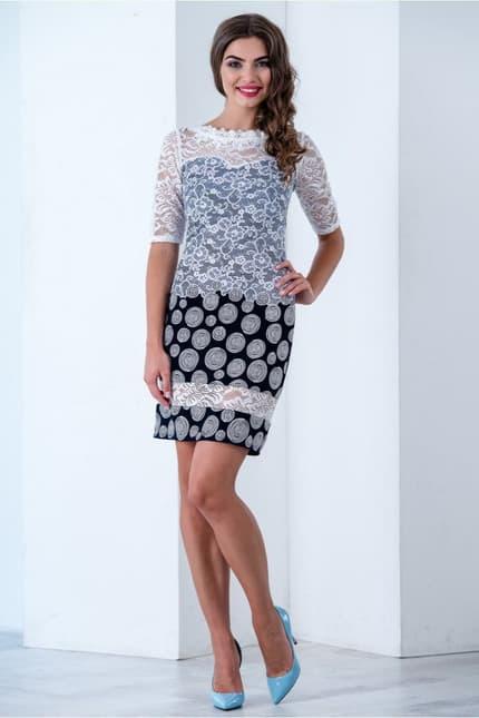 Коктейльное платье 6183e, фото 6
