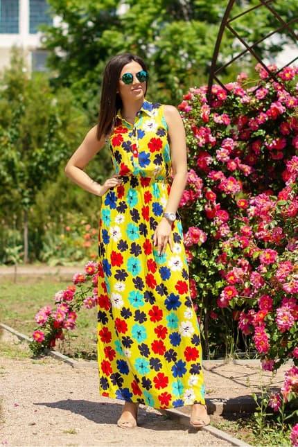 Повседневное платье 5111e, фото 1