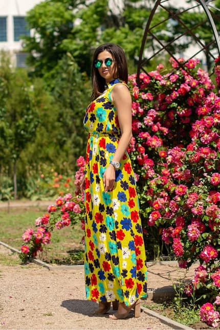 Повседневное платье 5111e, фото 3
