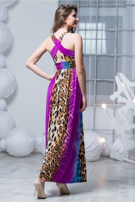 Повседневное платье 4136e, фото 4