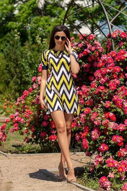 Повседневное платье 6044e, фото 1