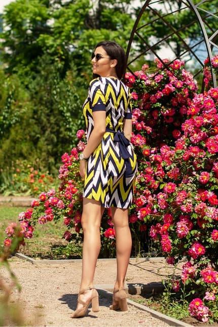 Повседневное платье 6044e, фото 2