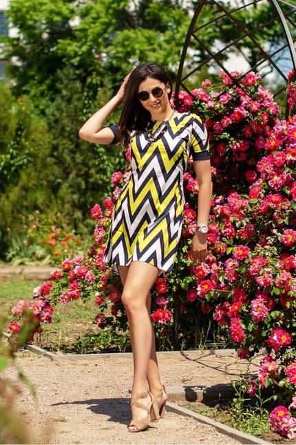 Повседневное платье 6044e, фото 3