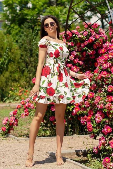 Повседневное платье 6117e, фото 1