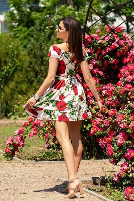 Повседневное платье 6117e, фото 2