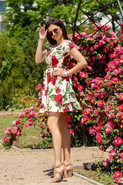 Повседневное платье 6117e, фото 3