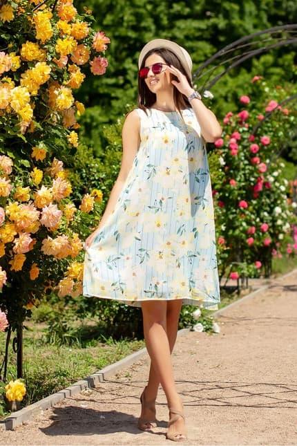 Повседневное платье 6126e, фото 1
