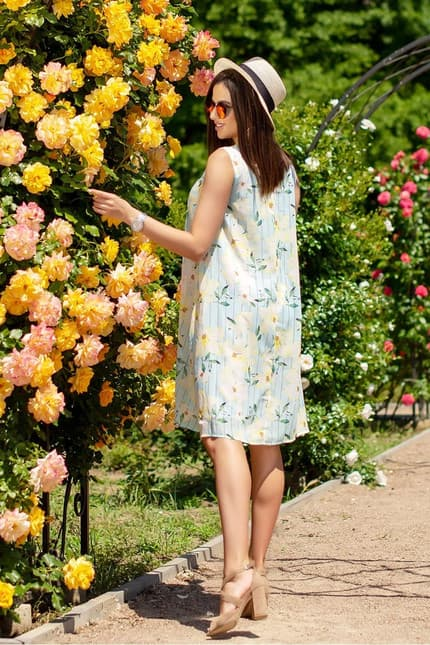 Повседневное платье 6126e, фото 2