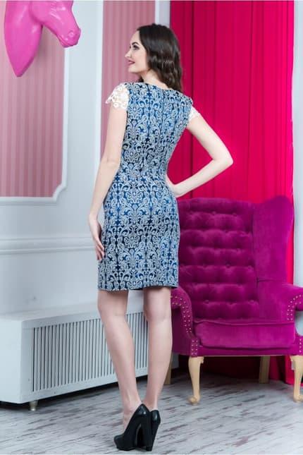 Повседневное платье 6137e, фото 3