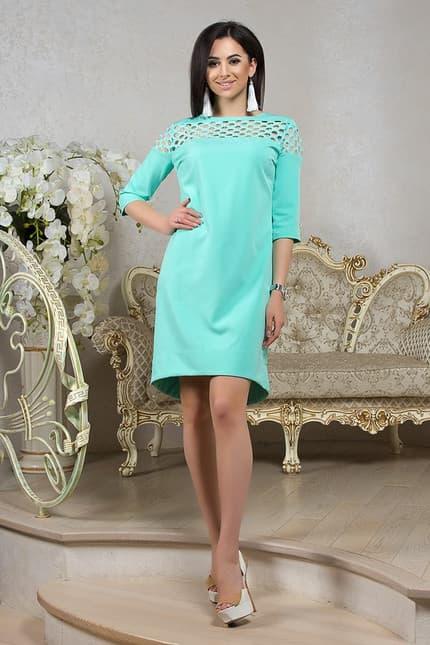 Повседневное платье 7201e, фото 1