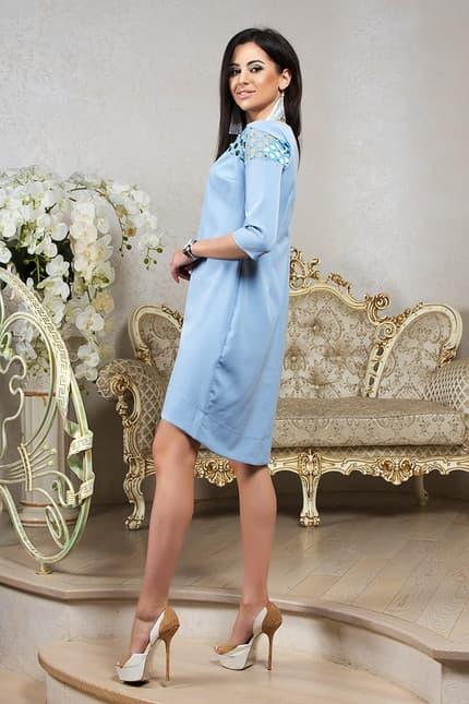 Повседневное платье 7201e, фото 2