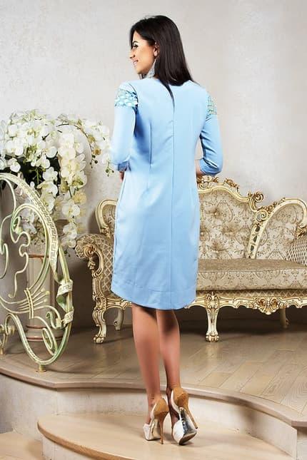 Повседневное платье 7201e, фото 3